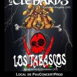 Live PCP > Les Clébards + Los Tabascos